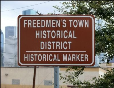 Sign Heralding the Marker image. Click for full size.