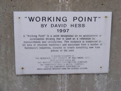 Working Point Marker image. Click for full size.