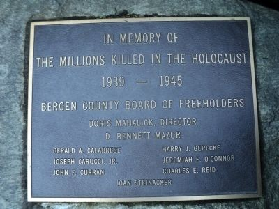 Holocaust Marker image. Click for full size.