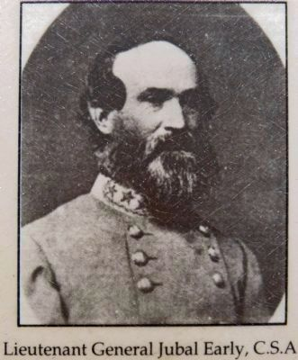 Lieutenant General Jubal Early, C.S.A. image. Click for full size.