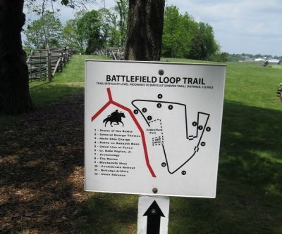 Battlefield Trail Map image. Click for full size.