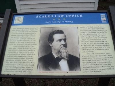 Scales Law Office Marker image. Click for full size.