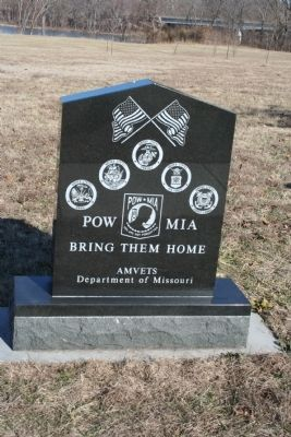 POW MIA Bring Them Home Marker image. Click for full size.
