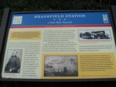 Brassfield Station Marker image. Click for full size.