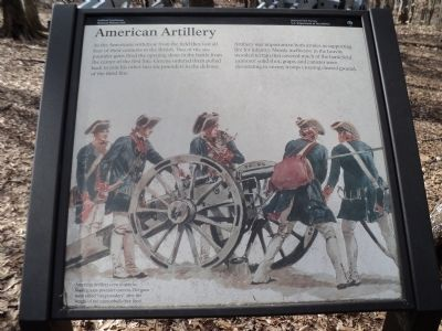American Artillery Marker image. Click for full size.