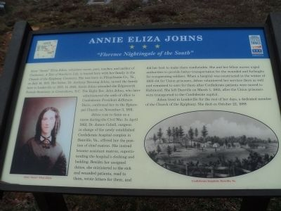 Annie Eliza Johns Marker image. Click for full size.