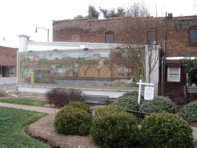 River boat Men Marker and Mural image. Click for full size.