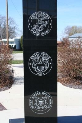 Part of A Salute to All Veterans Marker Photo, Click for full size