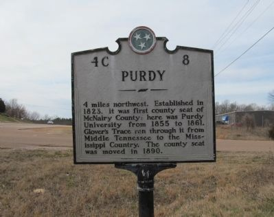 Purdy Marker image. Click for full size.