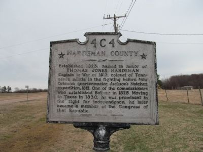 Hardeman County Marker image. Click for full size.