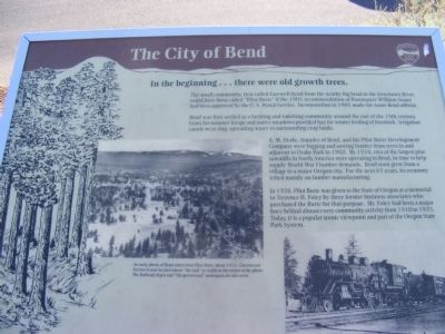 Pilot Butte Park Marker image. Click for full size.