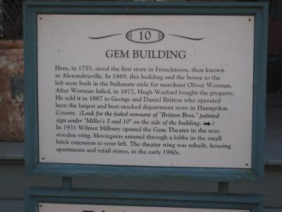 Gem Building Marker image. Click for full size.