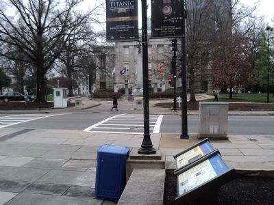 Marker in Raleigh image. Click for full size.