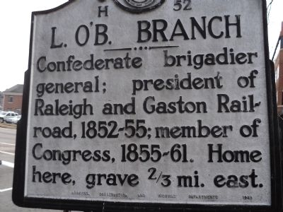 L. O'B. Branch Marker image. Click for full size.