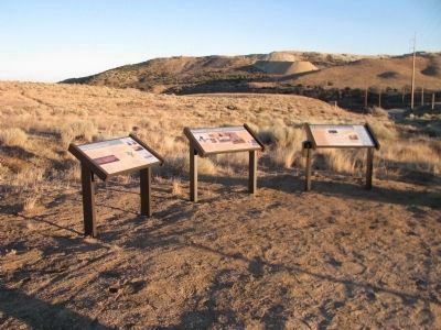 Why Tehachapi Pass / Pioneers of the Wind / Hike A Mile or Two - Thousand Markers image. Click for full size.
