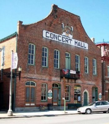 The Concert Hall and Barrel Bar image. Click for full size.