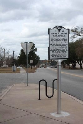 Marker at Main Street / Dunbarton Blvd looking northwest from Jefferson Street image. Click for full size.