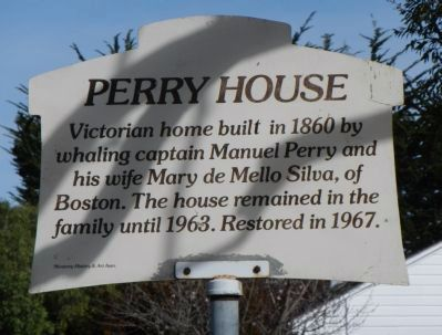 Perry House Marker image. Click for full size.