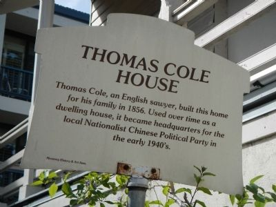 Thomas Cole House Marker image. Click for full size.