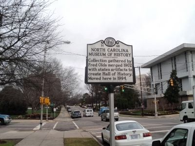 North Carolina Museum of History Marker image. Click for full size.