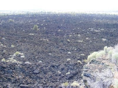 View of the River of Rocks - The Devils Homestead Lava Flow image. Click for full size.