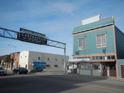 Downtown Castroville image. Click for full size.