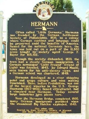 Hermann Marker (Side 1) image. Click for full size.