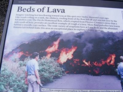 Beds of Lava Marker image. Click for full size.