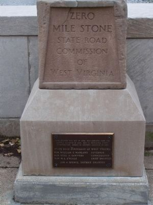 State Capitol Zero Mile Stone image. Click for full size.