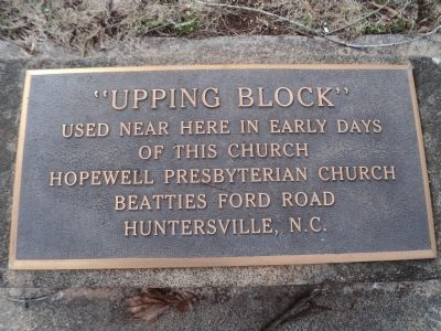 """Upping Block"" Marker image. Click for full size."