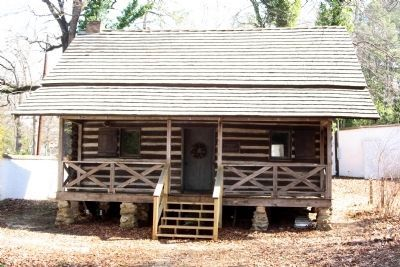 Aiken County Museum , Ergle Cabin built in 1808 , as mentioned image. Click for full size.