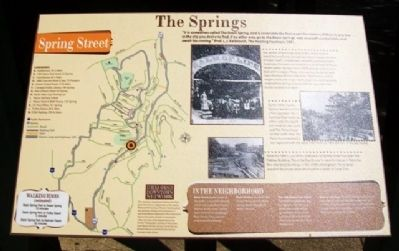 The Springs Marker image. Click for full size.