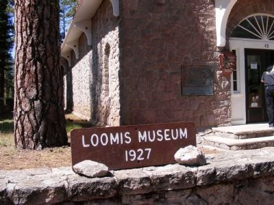 Loomis Museum - Lassen National Park Visitor Center image. Click for full size.
