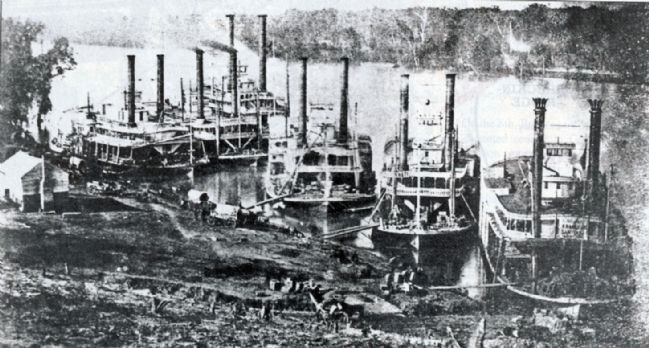 Pittsburg Landing 1863 image. Click for full size.