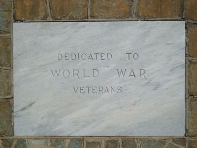 Westminster World War I Monument<br>Front image. Click for full size.