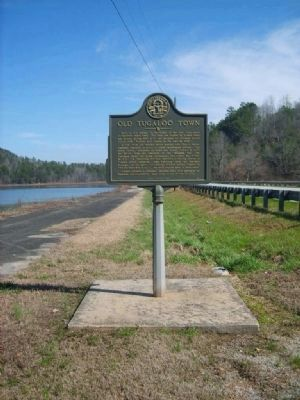 Old Tugaloo Town Marker image. Click for full size.