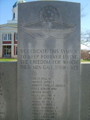 Stephen County Fallen Veterans Monument image. Click for full size.