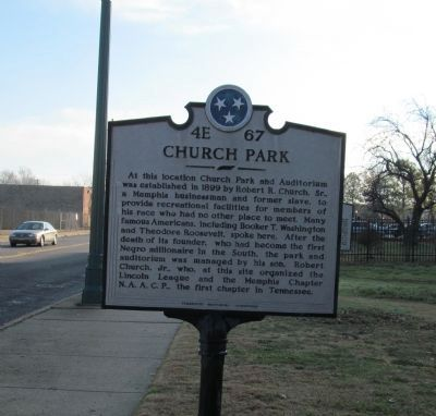 Church Park Marker image. Click for full size.