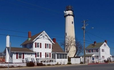 Fenwick Island Lighthouse complex image. Click for full size.