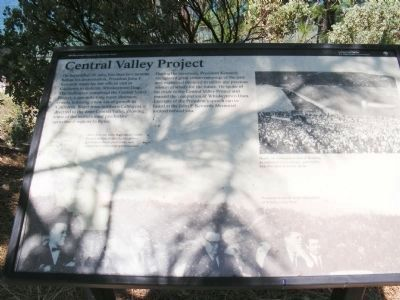 Central Valley Project Marker image. Click for full size.