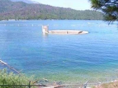 The Glory Hole at Whiskeytown Dam image. Click for full size.