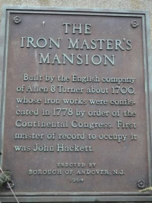 The Iron Master's Mansion Marker image. Click for full size.