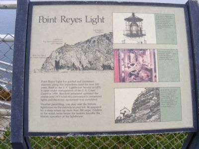 Point Reyes Light Marker image. Click for full size.