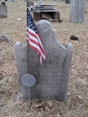 Grave of a Revolutionary War Soldier image. Click for full size.