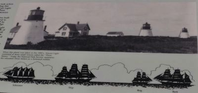 The Nauset Lights Marker image. Click for full size.