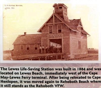 Life Saving Station image. Click for full size.