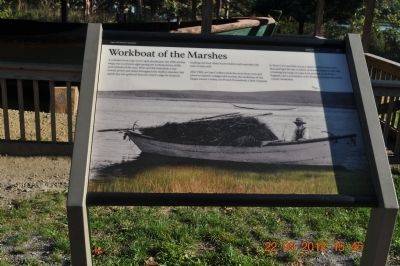 Workboat of the Marshes Marker image. Click for full size.