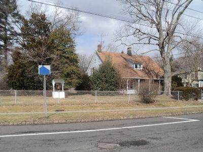Marker in Scotch Plains image. Click for full size.