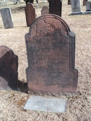 Grave of Isaac Halsey image. Click for full size.