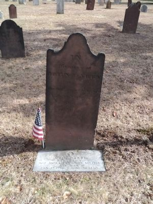 Grave of Sgt. John Darby image. Click for full size.